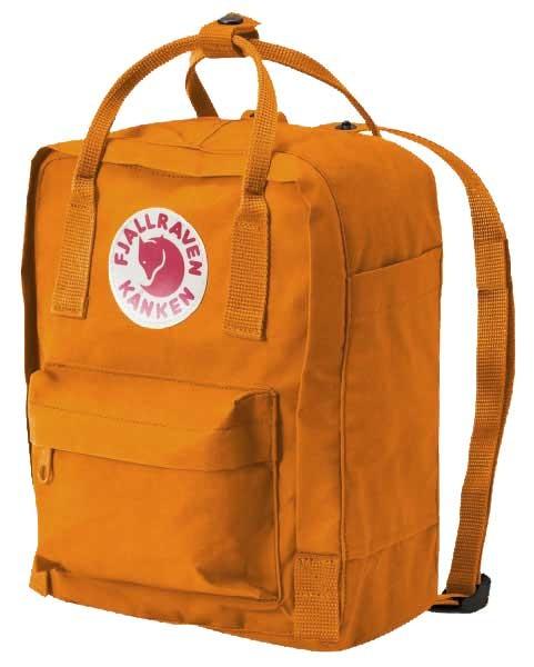 fjallraven kanken rucksack mini gelb