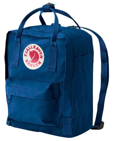 fjallraven kanken rucksack mini lake blau
