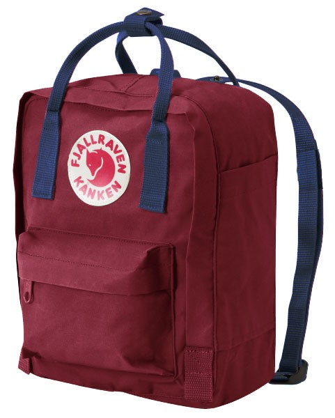 fjallraven kanken rucksack mini ox red-blau