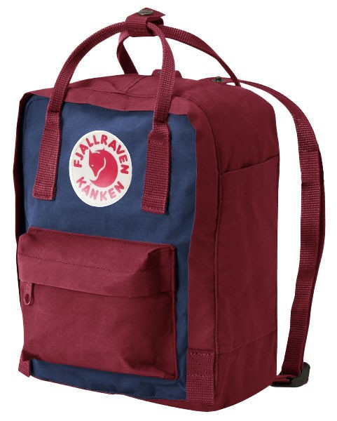 fjallraven kanken rucksack mini royal blau ox red