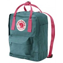 fjallraven kanken rucksack mini Forest Green Rose
