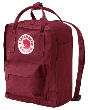 fjallraven kanken rucksack mini ox red